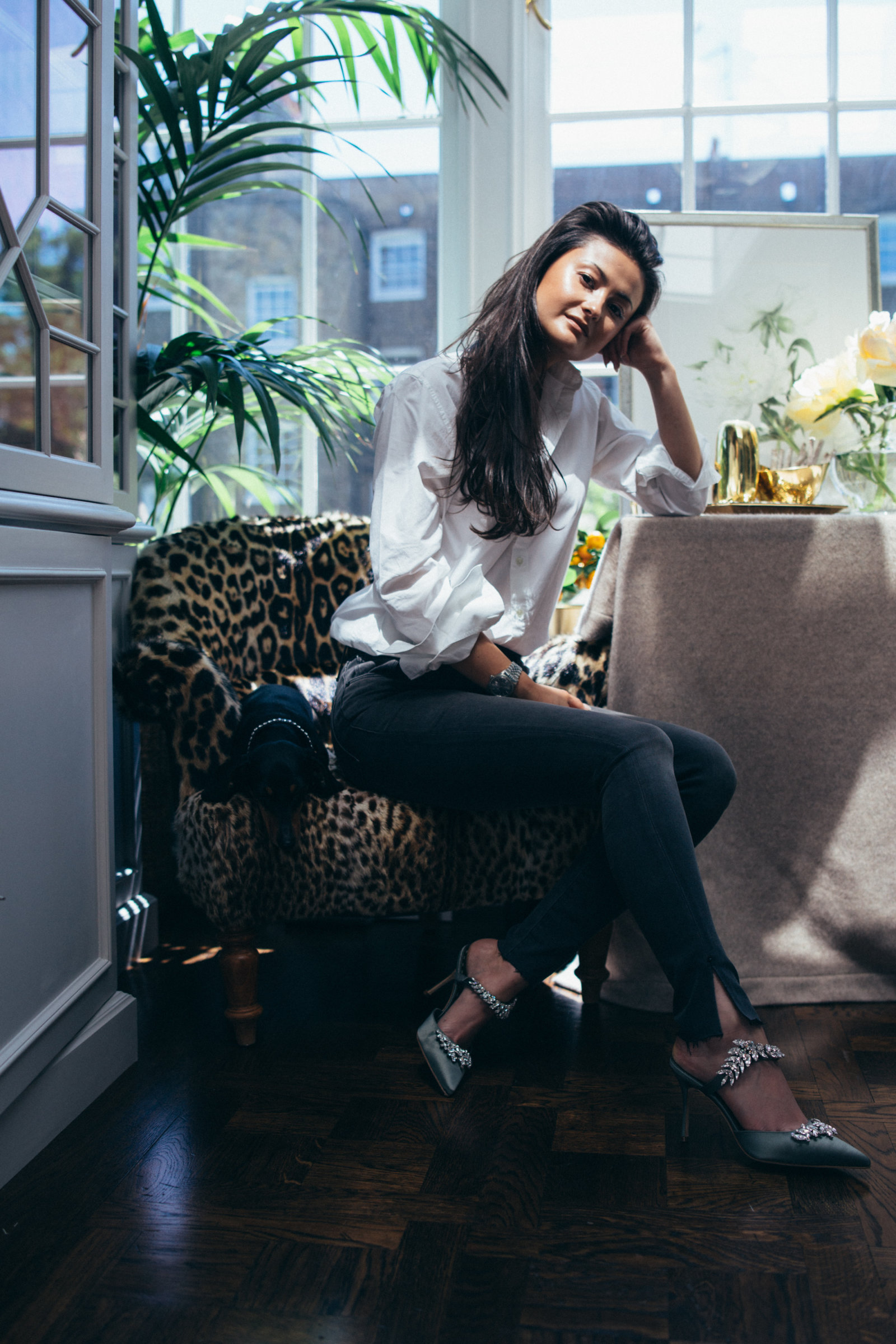 22012a4be21 We went to her home in London to chat with Peony Lim about her style