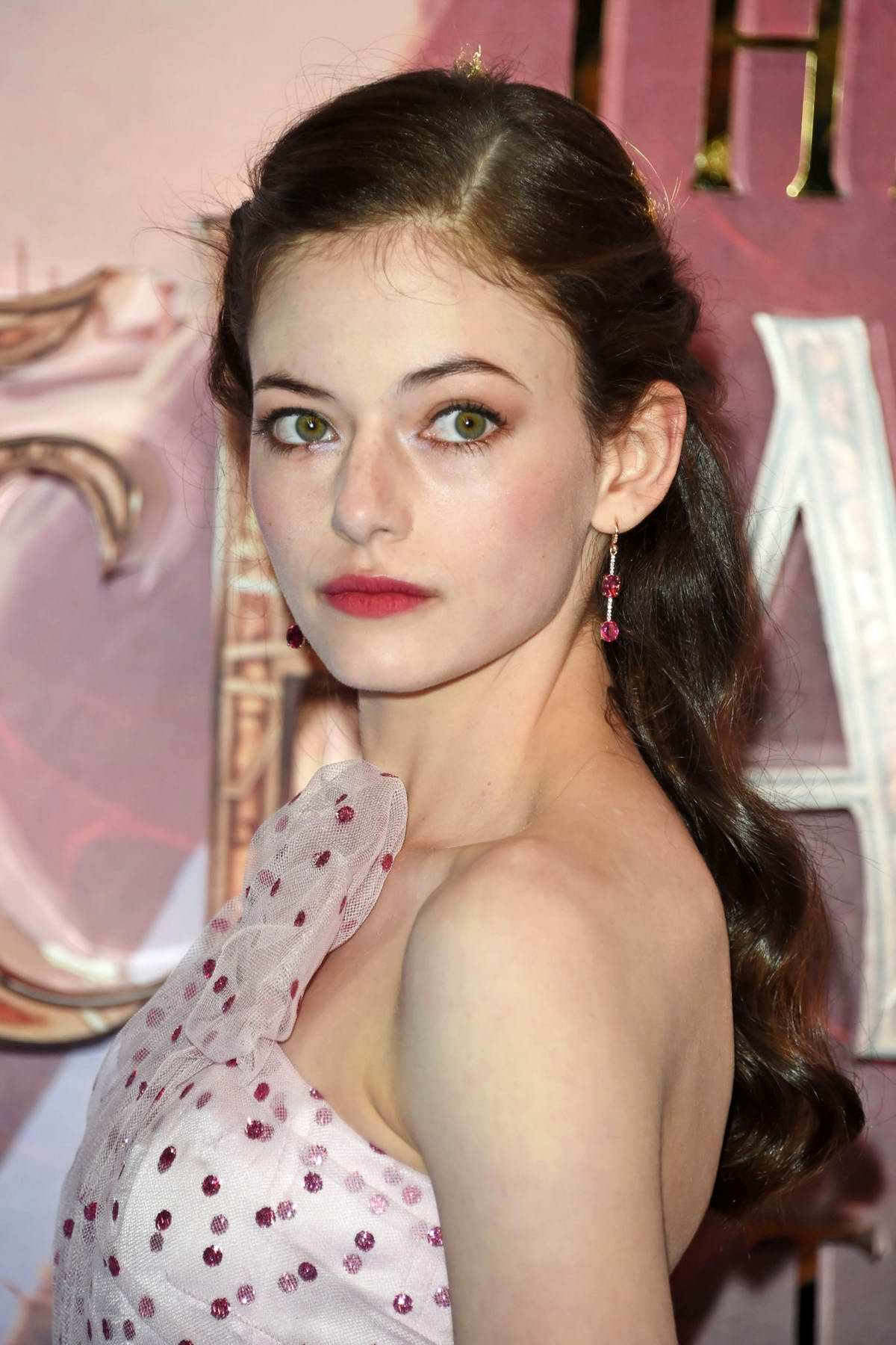 Steps Into The Red Carpet With Emma Day Mackenzie Foy
